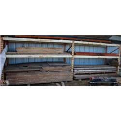 2 SECTION OF PALLET RACKING