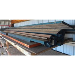 ASSORTED SIZE & LENGTH LVL LUMBER