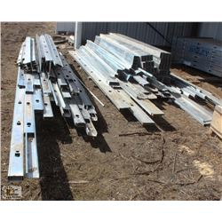 ASSORTED STEEL STUD & TRACKING