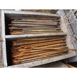 BOX OF STEEL CONCRETE PINS