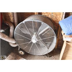 CANARM 4' CONSTRUCTION FAN ON WHEELS
