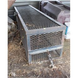 LOCKABLE STEEL SECURITY CAGE