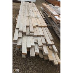 "LOT OF ASSORTED LENGTHS 2"" X 4"" DIMENSION LUMBER"