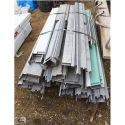 SKID OF ASSORTED STEEL DOOR FRAMES