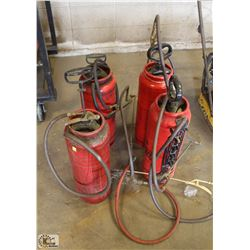 4 CONCRETE SPRAYERS