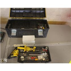 STANLEY FATMAX TOOL BOX W/ CONTAINS & STANLEY
