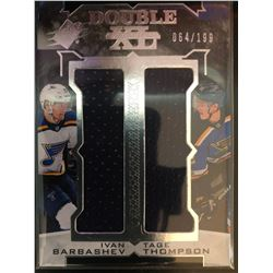 2017-18 SPX Double XL Materials Ivan Barbashev, Tage