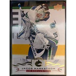 2018-19 Upper Deck Exclusive Jacob Markstrom #172