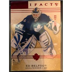 2014-15 Artifacts Ruby Ed Belfour Serial #489/499