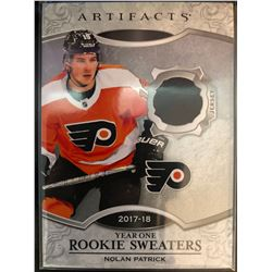 2018-19 Artifacts Rookie Sweaters Nolan Patrick #RS-NP