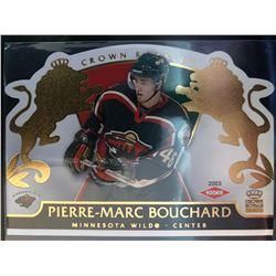 2002-03 Crown Royale Rookie Pierre-Marc Bouchard #119