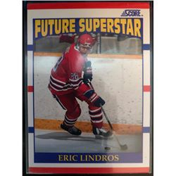 1990-91 Score Rookie Eric Lindros Card #440 Future
