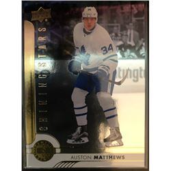 2017-18 Upper Deck Shining Stars Auston Matthews