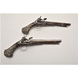 19FW-1 PAIR OF LARGE HORSE SIZE PISTOLS