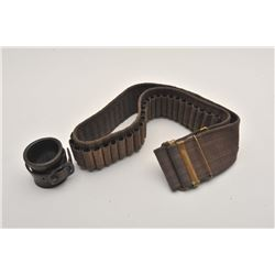 19FH-62 MILLS BELT AND LEATHER SOCKET