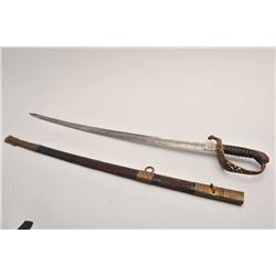 19EW-4 AUSTRIAN OFFICER'S SWORD