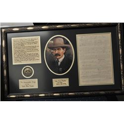19ANG-16 FRAMED DOC, PICTURE & BADGE