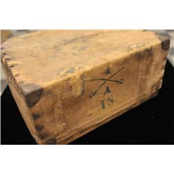 19FH-166 4 CAV. MARKED MULE BOX