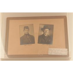 18KO-17 SOLDIERS PHOTO LOT W/GAR MEDAL 1864-1915