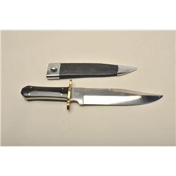17KX-18 J. HENRY BOWIE KNIFE W/HORN GRIP