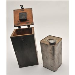 19EZ-16 WOODEN BOX FOR FUEL BOOSTER