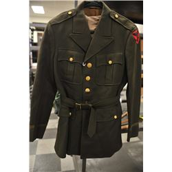 19EZ-539 ARMY UNIFORM JACKET W/SHIRT