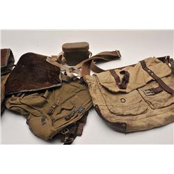 19EZ-542 GERMAN WWII BREAD BAG