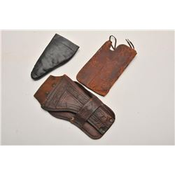19FH-87 ANTIQUE HOLSTER LOT
