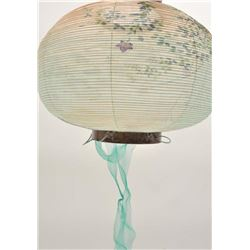 19DO-6 HAND PAINTED JAPANESE LAMP
