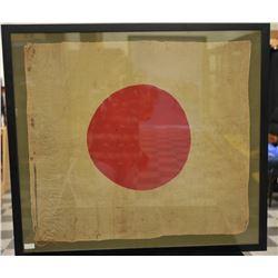19EZ-523 WWII ERA JAPANESE MEATBALL FLAG