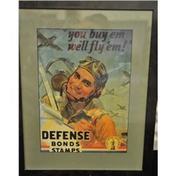 19EZ-524 DEFENSE BOND POSTER