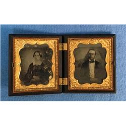 19GFE-78 DOUBLE DAGUERREOTYPE PHOTOS