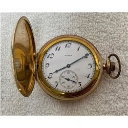 19GFE-71 ELGIN 12 SIZE POCKET WATCH