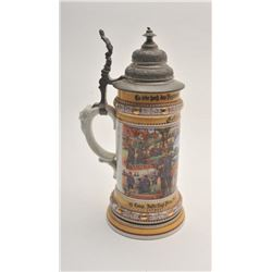 19FA-3 BEER STEIN-REGIMENTAL