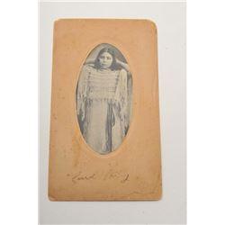 19DB-1 PHOTO OF BUFFALO BILL'S GIRLFRIEND