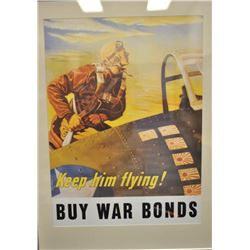19EZ-525 WAR BOND POSTER