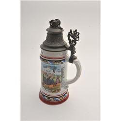 19FA-4 BEER STEIN-REGIMENTAL