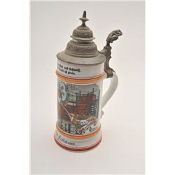 19FA-5 BEER STEIN-BREWERS