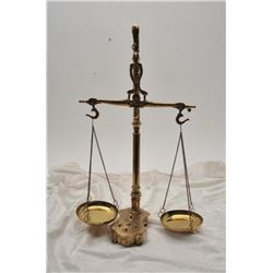 19RPS-37 VINTAGE BRASS SCALE