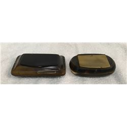 19GFE-65 TWO SNUFF BOXES