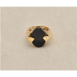 19MSE-18 LADIES ONYX RING