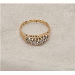 19RPS-29 DIAMOND PYRAMID RING