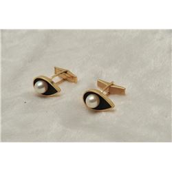 19RPS-20 PEARL CUFF LINKS