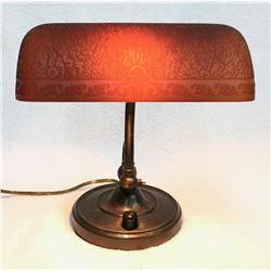 19GFE-37 BANKER'S LAMP