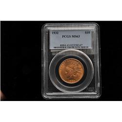 19GB-5 1932 U.S. INDIAN HEAD $10