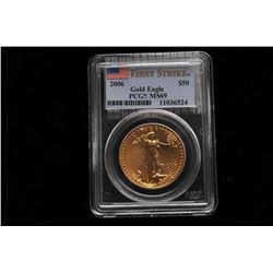 19GB-3 U.S. GOLD EAGLE $50 DOLLAR