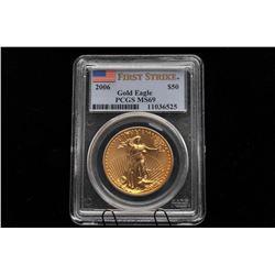 19GB-4 U.W. GOLD 2006 EAGLE $50 DOLLAR