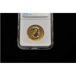 19GB-6 CANDIAN $50 GOLD