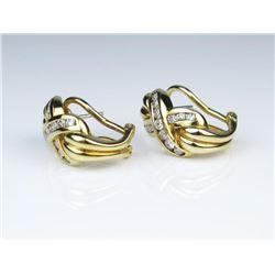 19CAI-24 DIAMOND EARRINGS