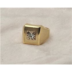 19RPS-35 MANS DIAMOND RING
